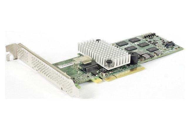 Контроллер LSI-LOGIC LSI Logic MegaRAID SAS 9250-4i SGL (PCI-E 2.0 — 4x SAS/SATA, RAID 0-10), LSI00459