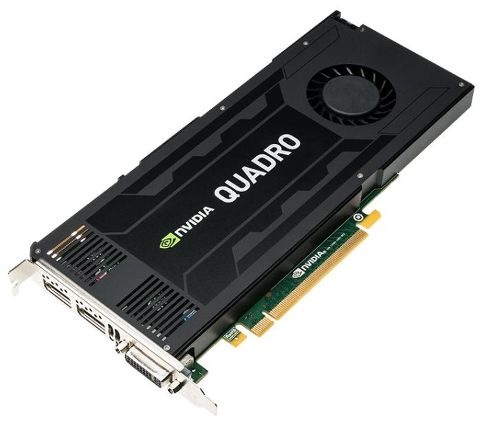 ���������� ���������������� PNY PCI-Ex Quadro K4200 (VCQK4200-PB) 4096MB, DDR5 DVI 2*DP