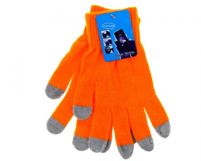 Аксессуар для телефона Yifan перчатки для емкостных дисплеев 1, оранжевые UPG1036904
