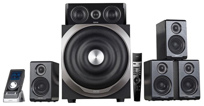 Компьютерная акустика Edifier S760 D, черная S760D