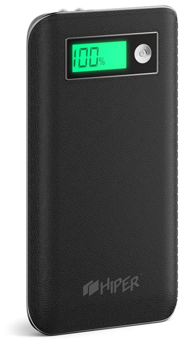 Аксессуар для телефона Hiper XPX6500, аккумуляор, 6500 мАч, 2.4 А, USB, черный XPX6500 BLACK