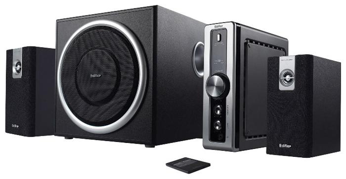 Компьютерная акустика Edifier C2, черно-серебристая