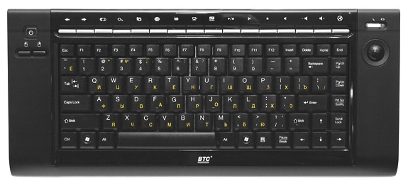 Клавиатура BTC 9039ARF III, черная