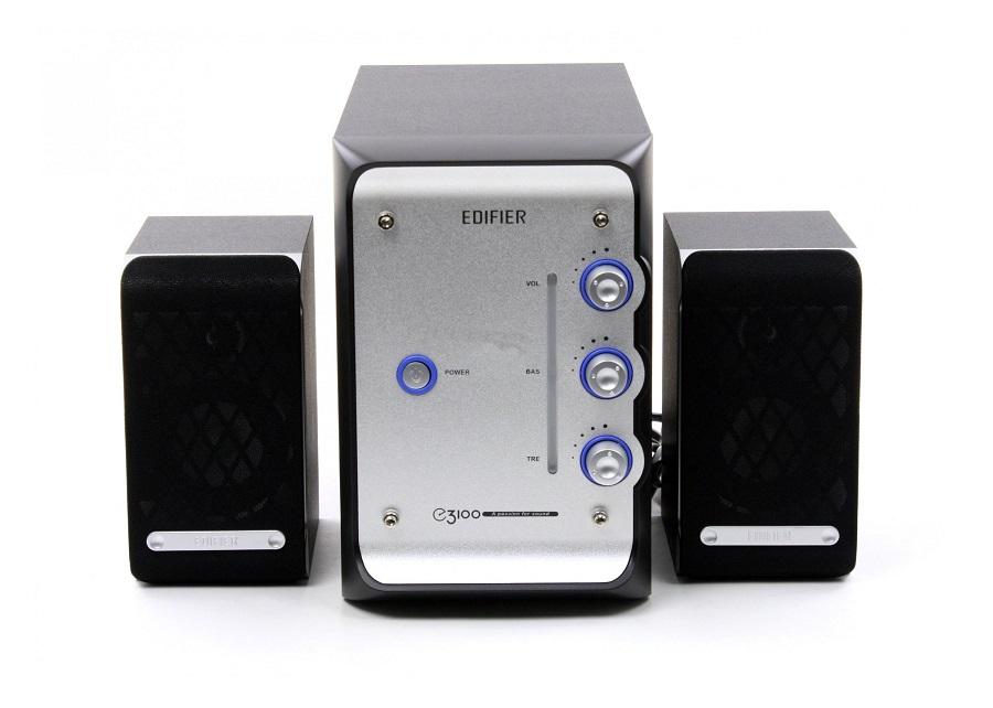 Компьютерная акустика Edifier E3100, черно-синяя
