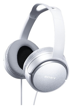 SONY MDR-XD150, бело-серебристые