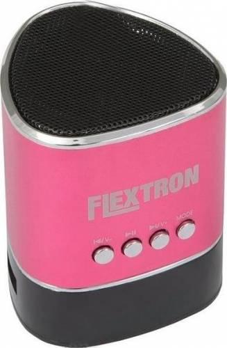 Портативная акустика Flextron F-CPAS-340B1-PK, розовая