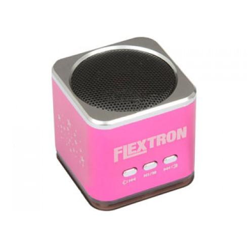 Портативная акустика Flextron F-CPAS-322B1-PK, розовая