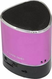 Портативная акустика Flextron F-CPAS-340B1-PR, фиолетовая