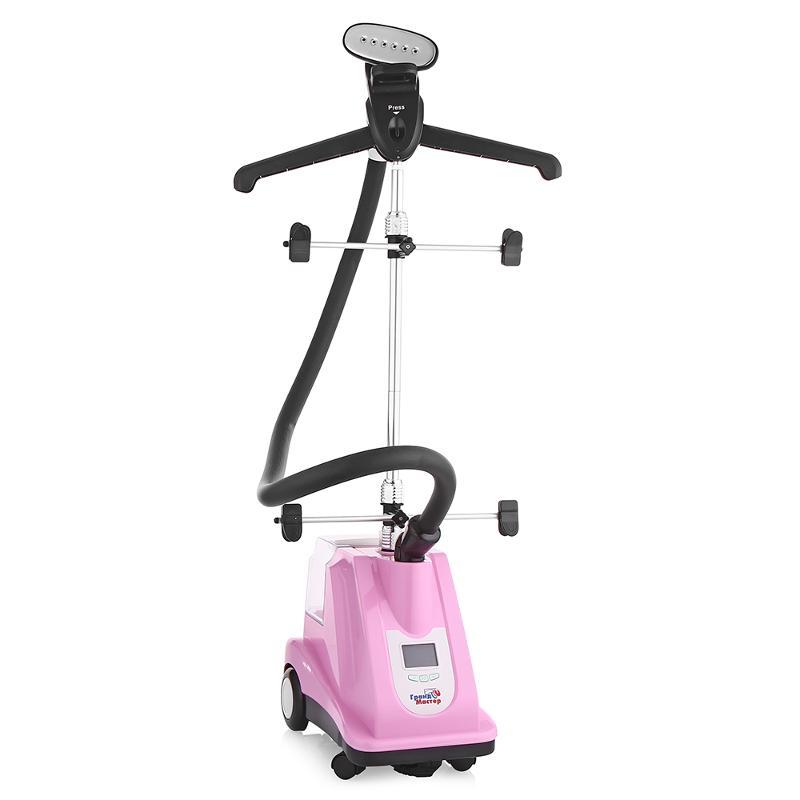 Пароочиститель-отпариватель Grand-Master GM-B205T, розовый GM-B205T Розовый