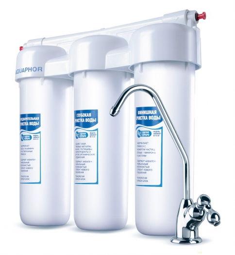 Фильтр для воды Akvafor- Аквафор ТРИО Норма (умягчающий)