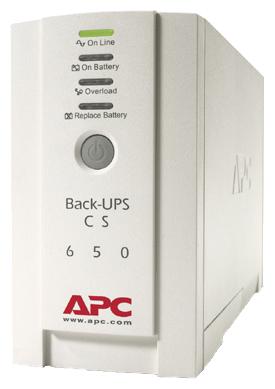 Источник бесперебойного питания APC by Schneider Electric Back-UPS CS 650VA 230V BK650EI