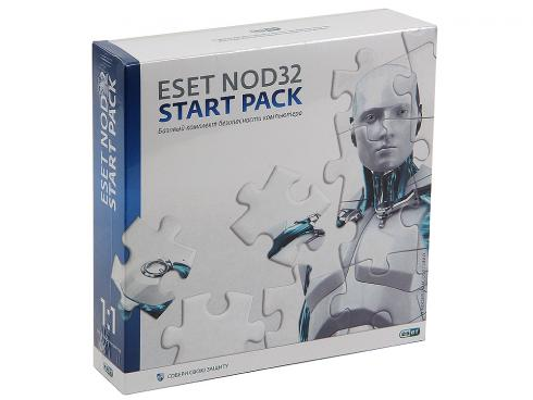 Программа-антивирус ESET NOD32 START PACK - лицензия на 1 год на 1ПК