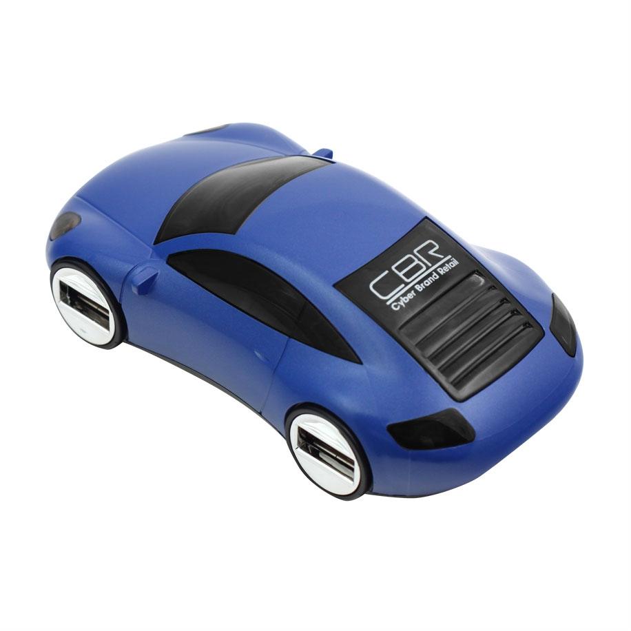 USB концентратор CBR MF-400 Mizuri Blue