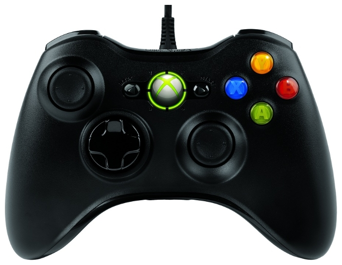 Геймпад MICROSOFT Xbox 360 Controller for Windows Black 52A-00005