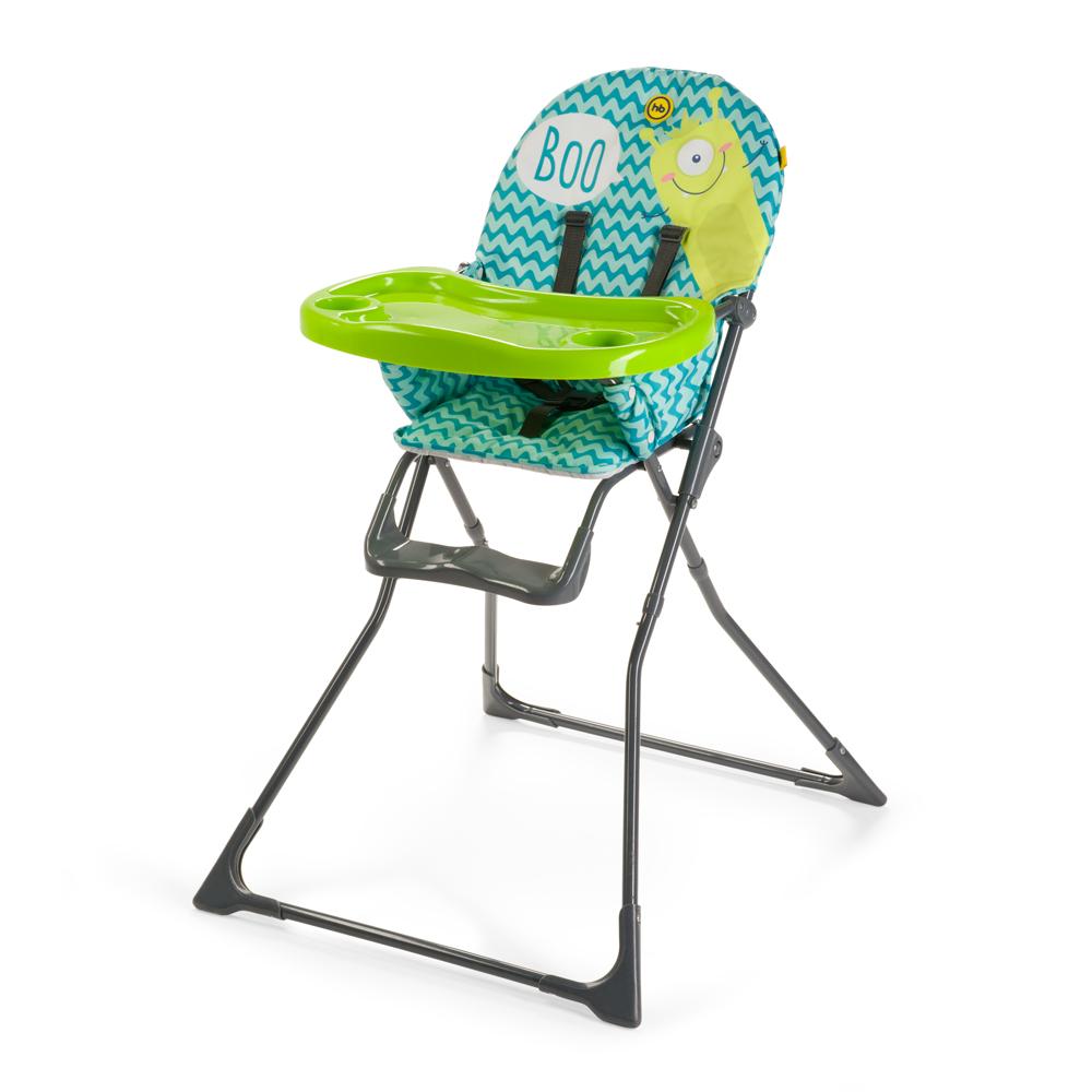 Стульчик для кормления Happy-Baby Ergoslim, aquamarine
