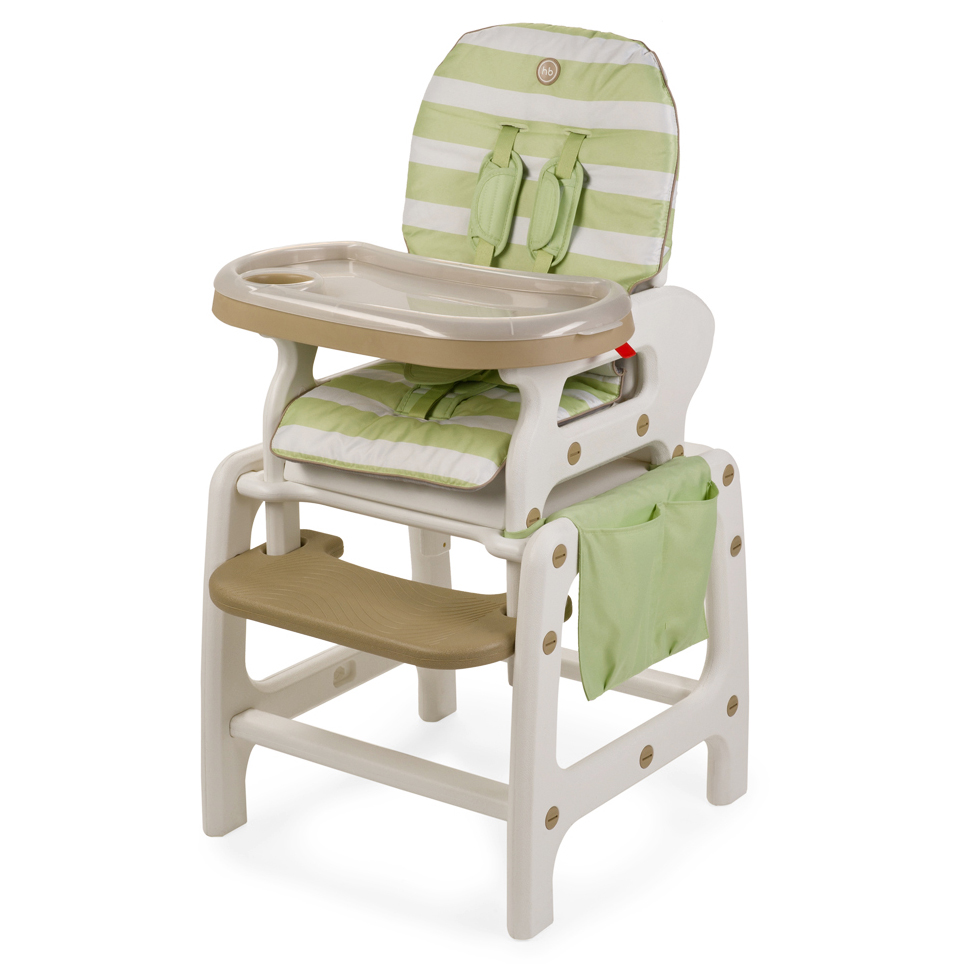 Стульчик для кормления Happy-Baby Oliver V2, зелёный