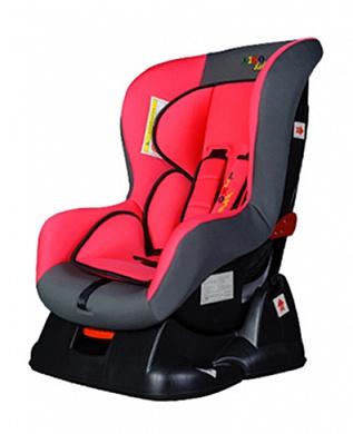 Автокресло Liko-Baby LB 702, розово-серое