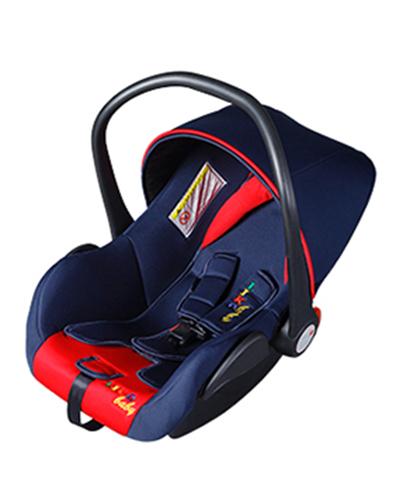 Автокресло Liko-Baby LB 321 B, красное / синее