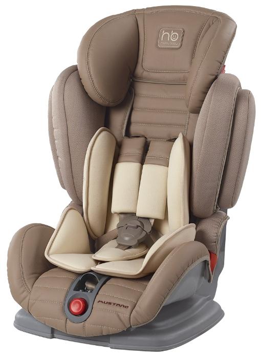 Автокресло Happy-Baby Mustang 2015, бежевое