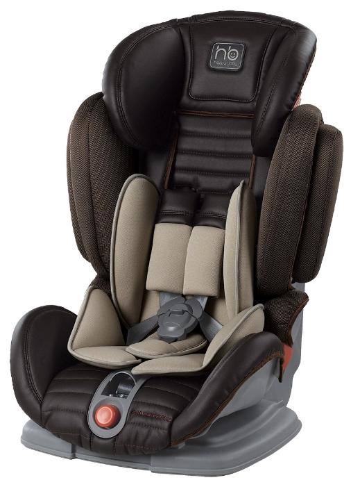 Автокресло Happy-Baby Mustang 2015, чёрное