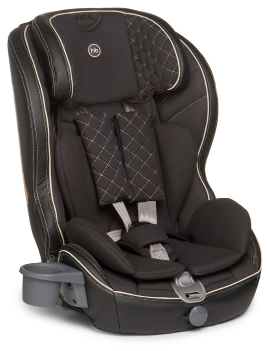 Автокресло Happy-Baby Mustang Isofix, black