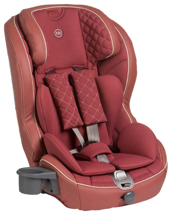 Автокресло Happy-Baby Mustang Isofix, bordo