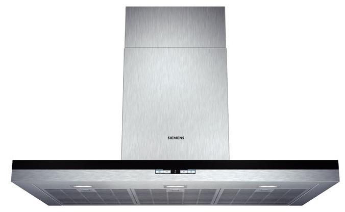 Вытяжка Siemens LC 98BD542, серебристая LC98BD542