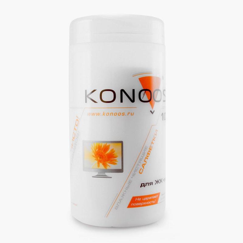 Чистящая принадлежность для ноутбука Konoos Влажные салфетки KBF-100