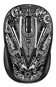 Sven RX-360 Art Wireless, черная с рисунком