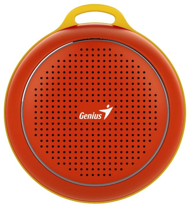 Портативная акустика Genius SP-906BT, красная 31731072104
