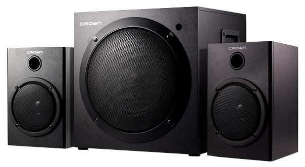 Компьютерная акустика Crown CMS-407, черная