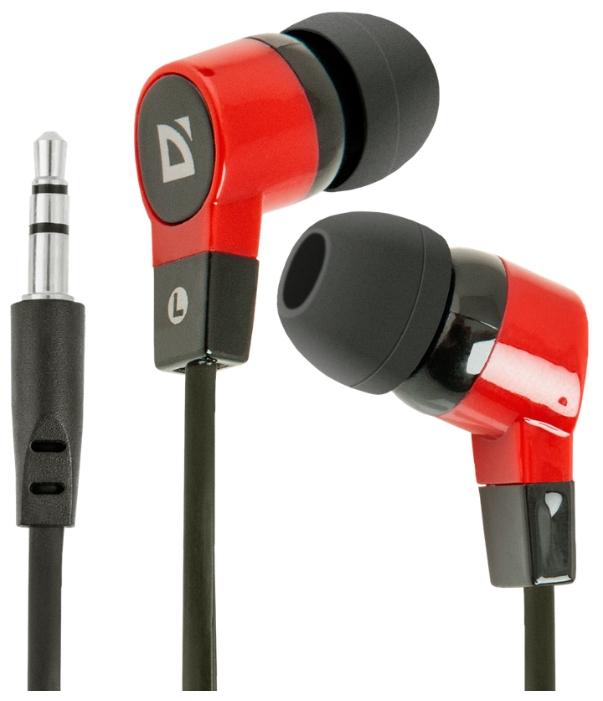 Defender Basic-619, черно-красные