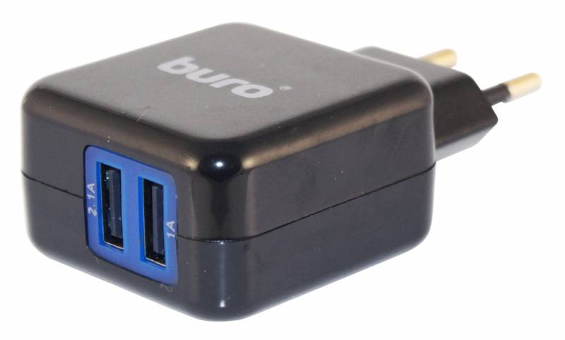 Зарядное устройство BURO TJ-134B, универсальное, black
