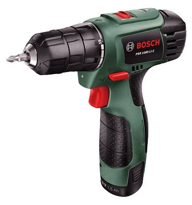 Дрель Bosch PSR 1080 LI-2 аккум. 06039A2101