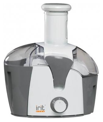 Соковыжималка Irit IR-5603, white with grey