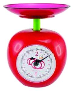 Кухонные весы 7132, красные IRIT-7132 красный