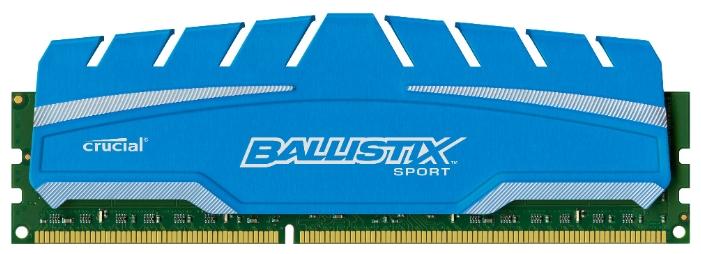 Модуль памяти Crucial BLS8G3D169DS3CEU (DDR3, 8Gb, 1600MHz, CL9, DIMM)