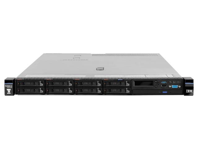 Сервер Lenovo TopSeller x3550 M5 Rack 1U (8869E3G)
