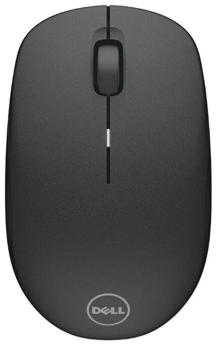Мышка DELL WM126 Wireless Mouse, черная
