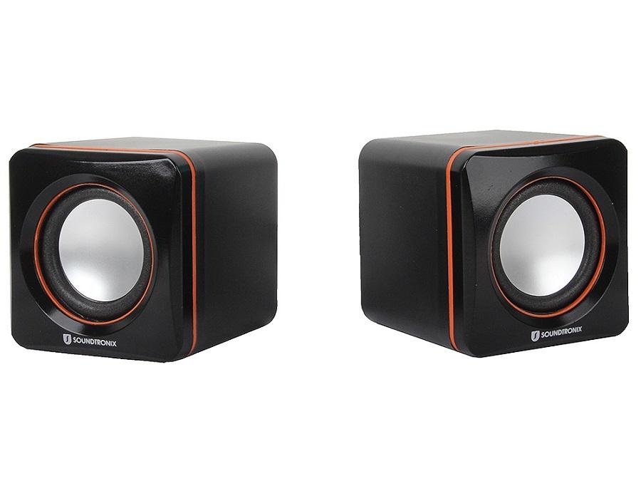 Компьютерная акустика Soundtronix SP-96, черно-оранжевая SP-96U