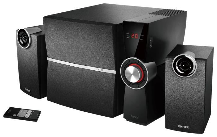 Компьютерная акустика Edifier C2X, черно-серебристая