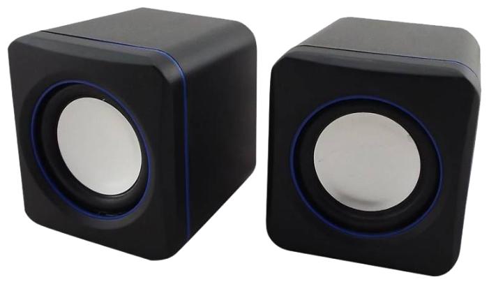 Компьютерная акустика oklick OK-301, черно-синяя OK-301 Black-Blue