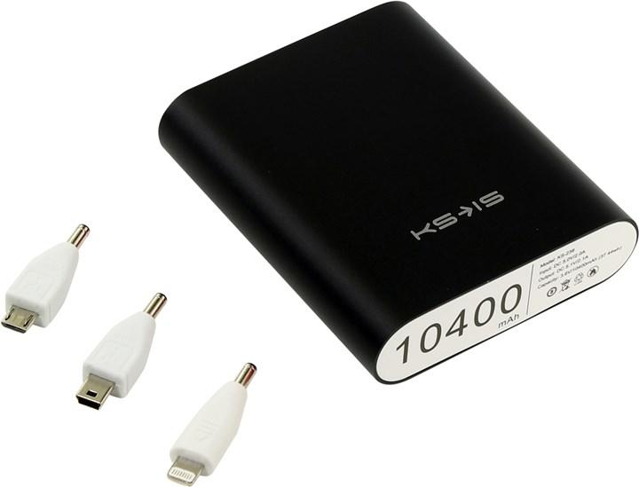 Аксессуар для телефона KS-IS KS-239 10400mAh, черный KS-239 Black