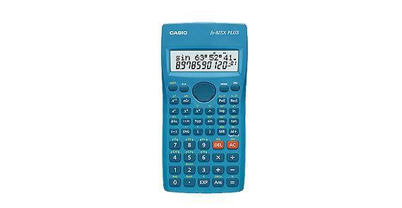 Калькулятор Casio FX-82SX Plus Синий FX-82SXPLUS