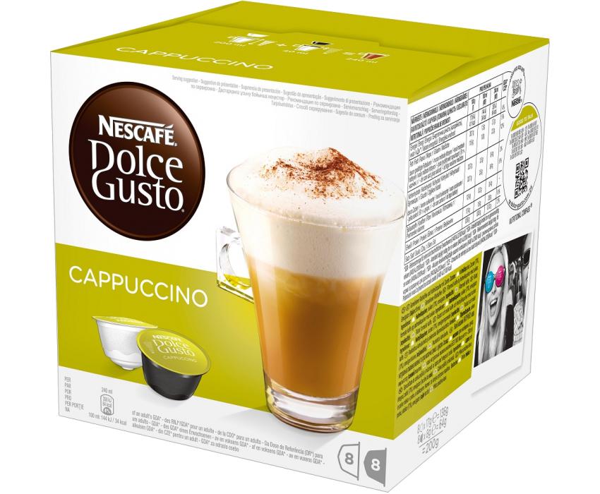 Кофе Nescafe Dolce Gusto Cappuccino