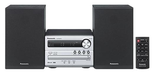 Музыкальный центр Panasonic SC-PM250EE-S, серебристый