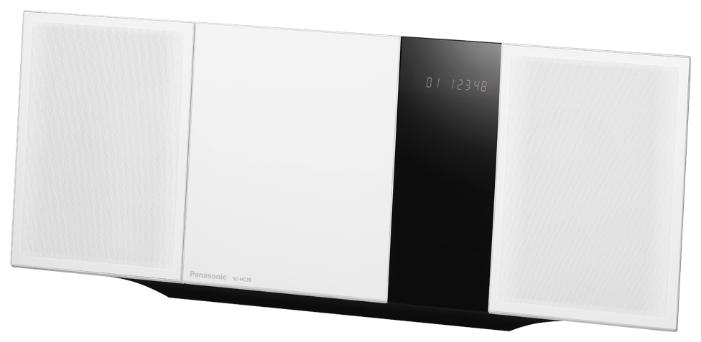 Музыкальный центр Panasonic SC-HC39EE-W, белый