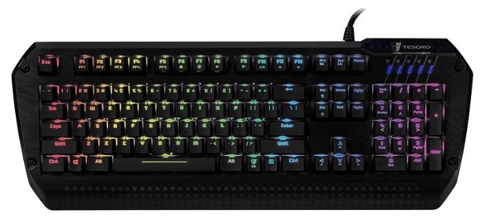Клавиатура Tesoro Lobera Spectrum TS-G5SFL (Kailh Brown) Black USB G5SFL BW