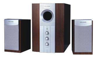 Компьютерная акустика Microlab M-890, коричневая/серебро M-890 коричн.-серебр.