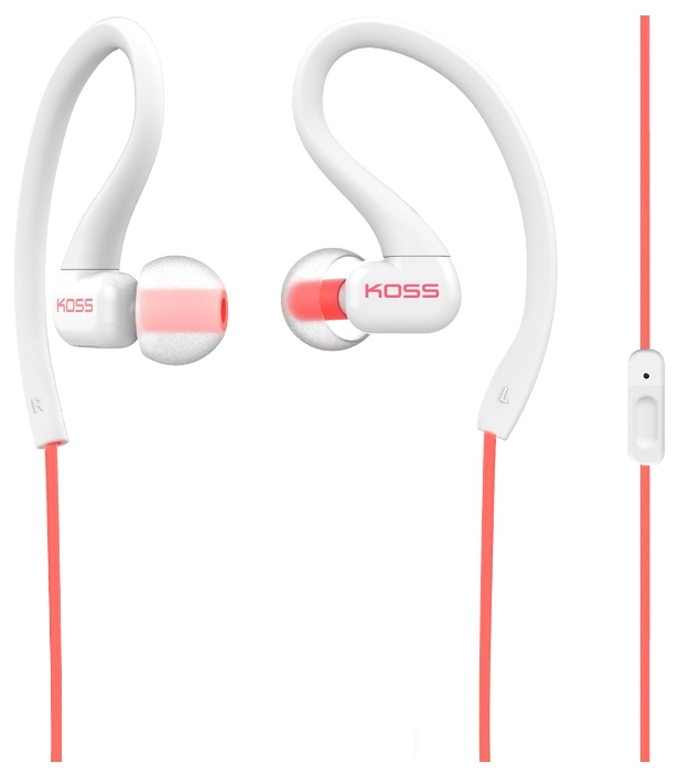 Koss KSC32iс, бело-красная